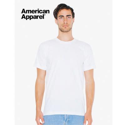 American Apparel Unisex Fine Jersey Short Sleeve T